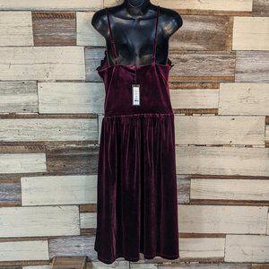 Romeo & Juliet Couture Dresses - Romeo & Juliet Couture Velvet Gothic Dress NWT